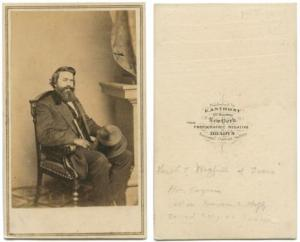 Photo source of Confederate Brigadier General Louis Trezevant Wigfall: Lawrence T. Jones III Texas Photographs, DeGolyer Library, Central University Libraries, Southern Methodist University.  Click image to learn more.